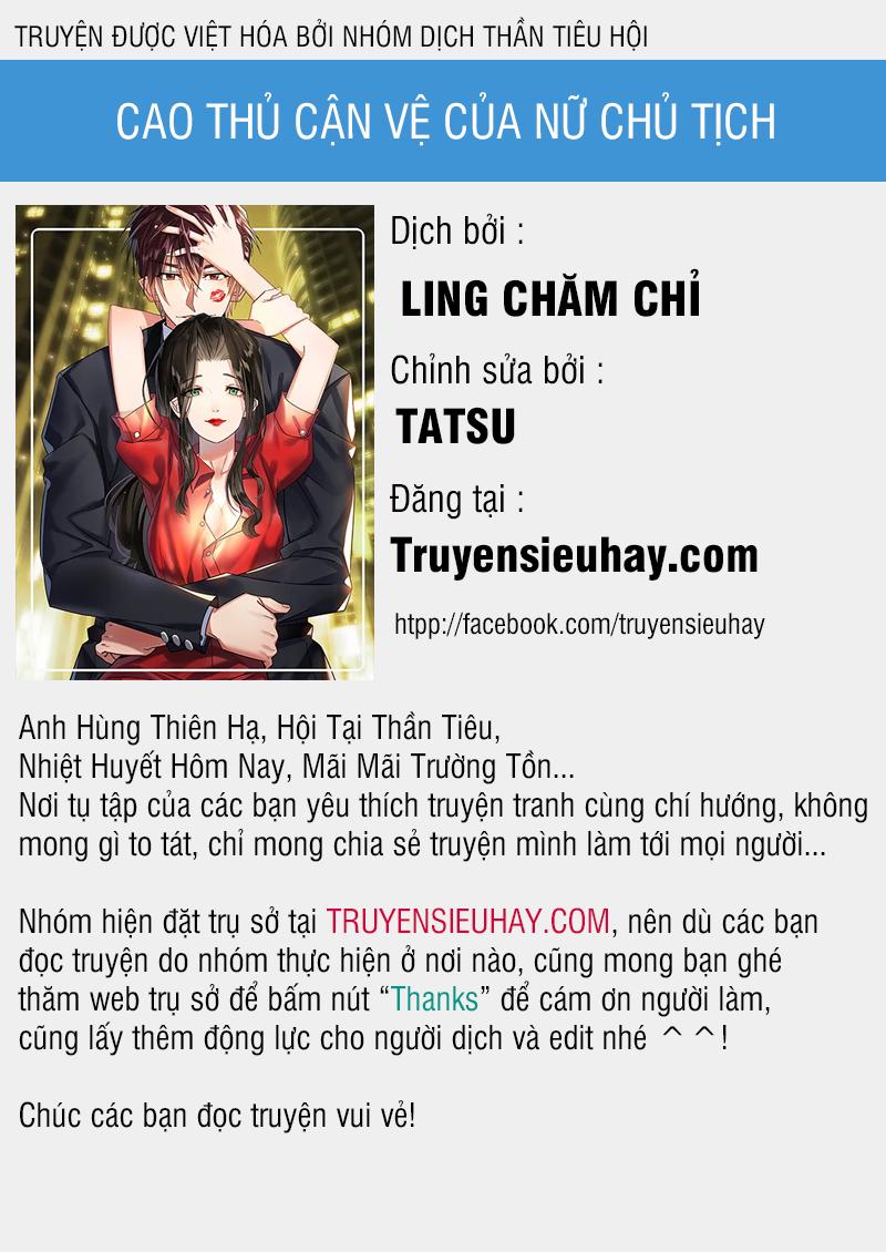Cao Thủ Cận Vệ Của Nữ Chủ Tịch - Chap 19