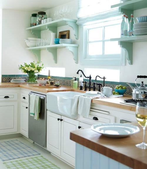 cozinha prateleiras