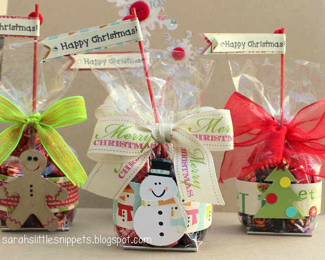 Sarah s little snippets christmas treat bags