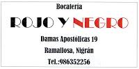 BOCATERIA ROJO Y NEGRO
