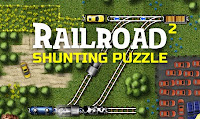 Railroad Shunting Puzzle 2 walkthrough.