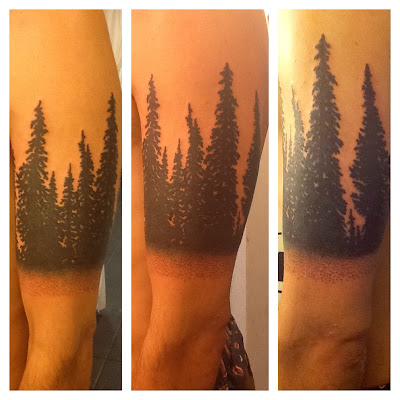 tree tattoo;