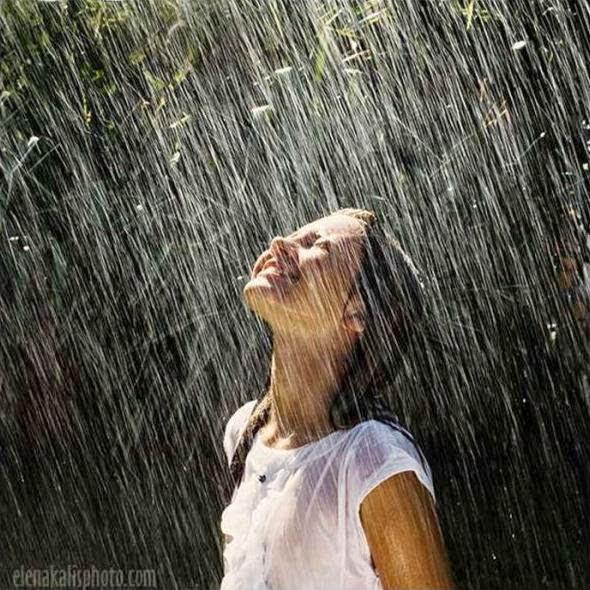 Kehujanan, Basah Kuyup