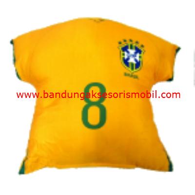 Bantal Sandaran Club Bola Brazil