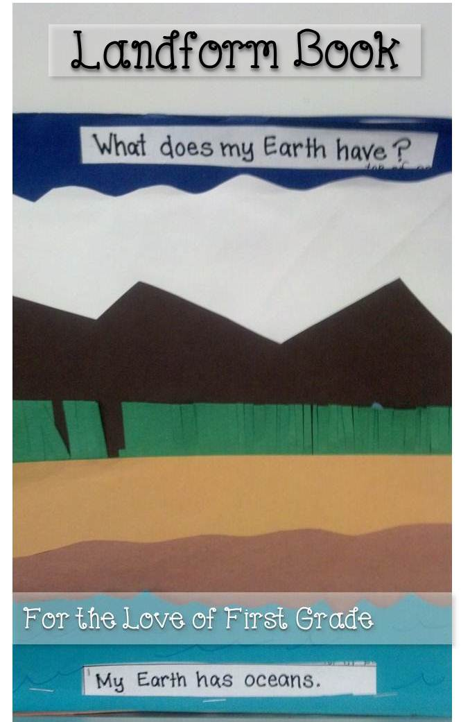 For the Love of First Grade: My Little Book of Landforms ...