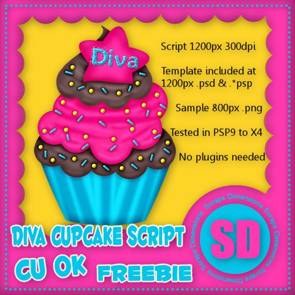 FREEBIE CU DIVA CUPCAKE SCRIPT SD_CU+DC+Preview