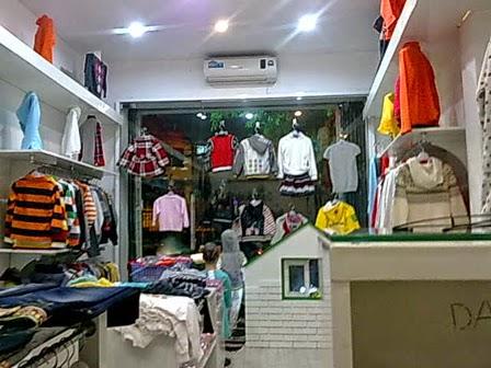 shop thời trang trẻ em đa dạng và phong phú