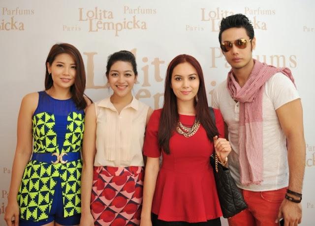 Lolita Lempicka L'Eau Jolie Launch, Frangrance, Lolita Lempicka, Emily Lim, Elie Norman, Siti Saleha, Isaac Ong
