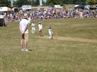 cricket match british summer festival