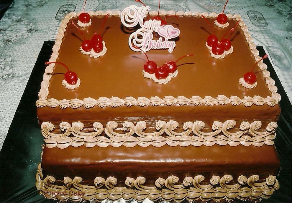Birthday Cake/ Kue Ulang Tahun