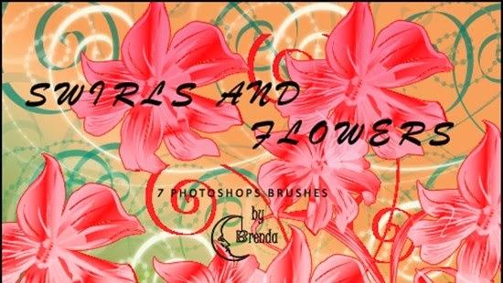 Photoshop Roses PS Brushes