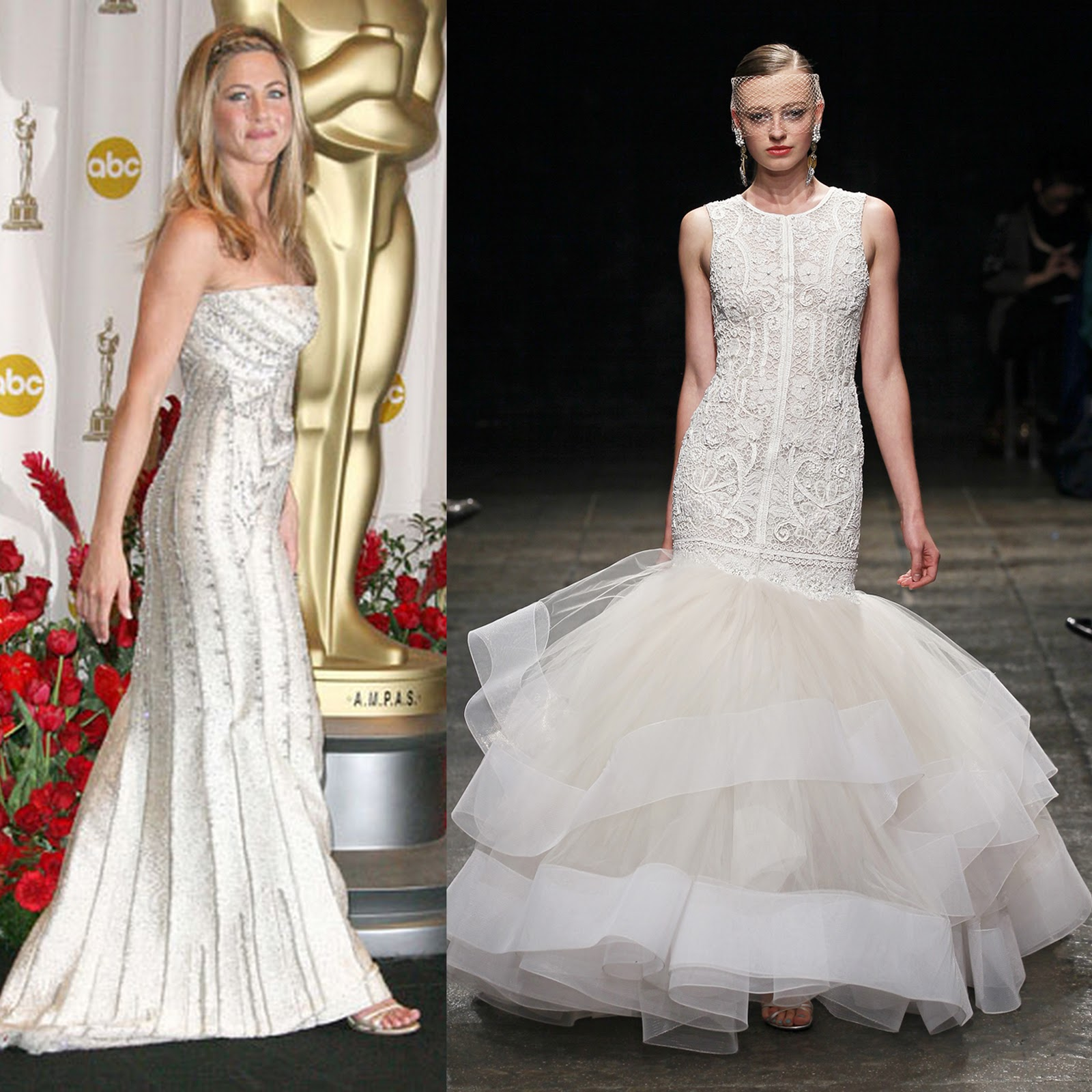 the serendipitist: Jen Aniston\'s Wedding Gown