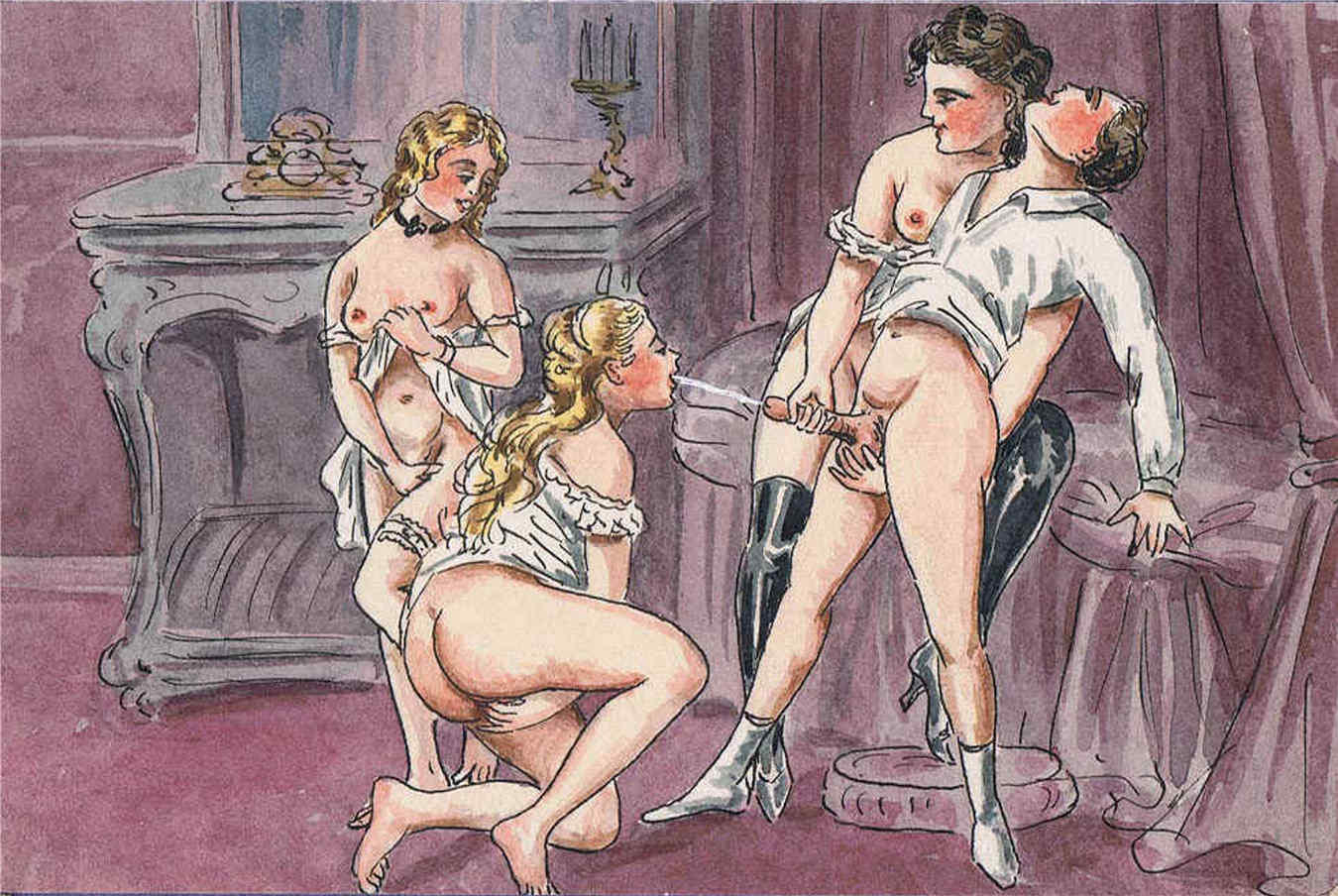 Порнографика средневековья