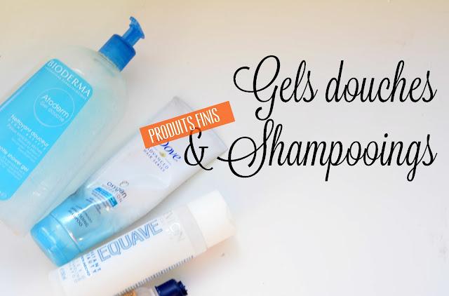 Produits finis: 1 an de gels douches et shampooings
