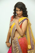 santoshini sharma photos in half saree-thumbnail-6