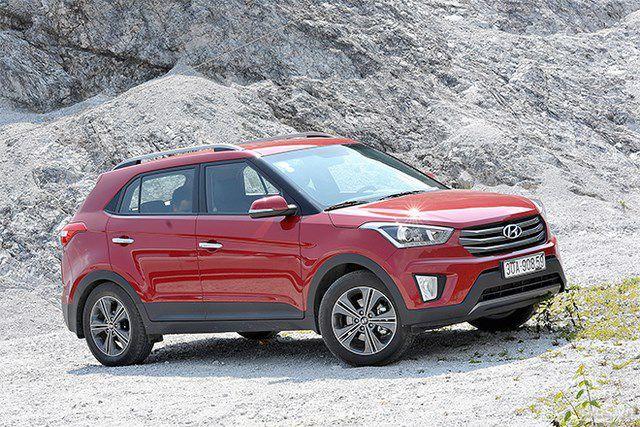 Xe Hyundai Creta - SUV 5 chỗ đáng mua dịp cuối năm