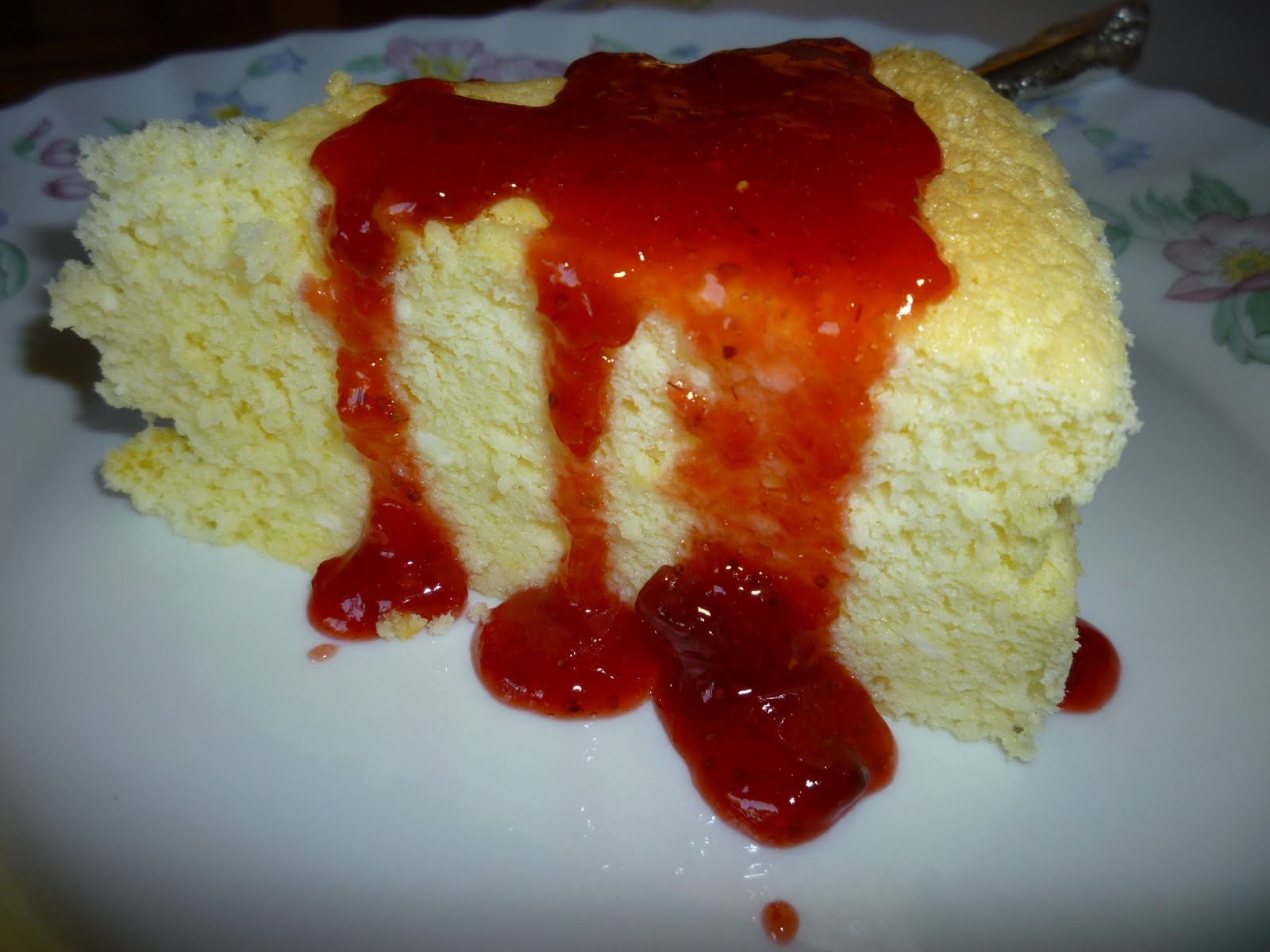 Japanese Cream Cheese Chiffon Cake