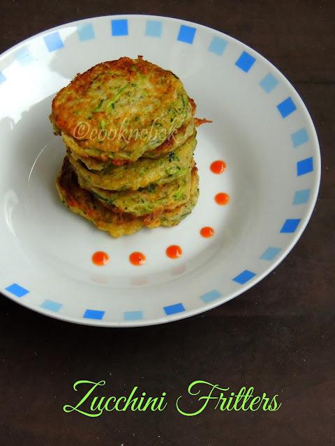 Zucchini Fritters, Zucchini pancakes