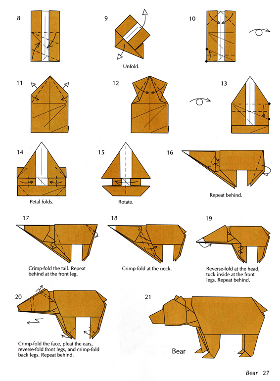 FREE PATTERN FOR ORIGAMI BOX