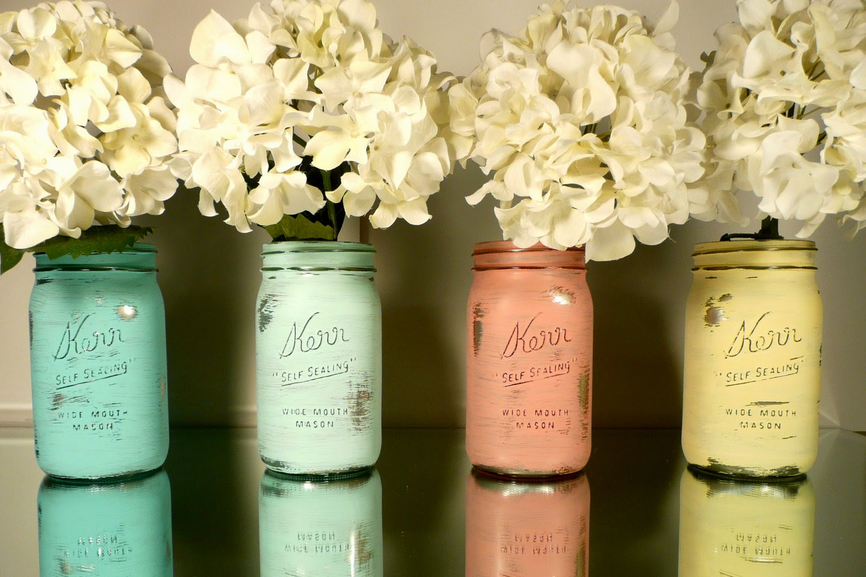 Mason Jar Wedding Ideas 38 Inspirational Go metallic