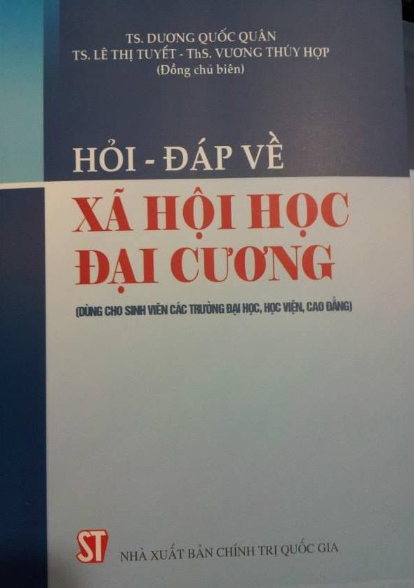 TS. Dương Quốc Quân, TS. Lê Thị Tuyết - Hỏi đáp về Xã hội học đại cương