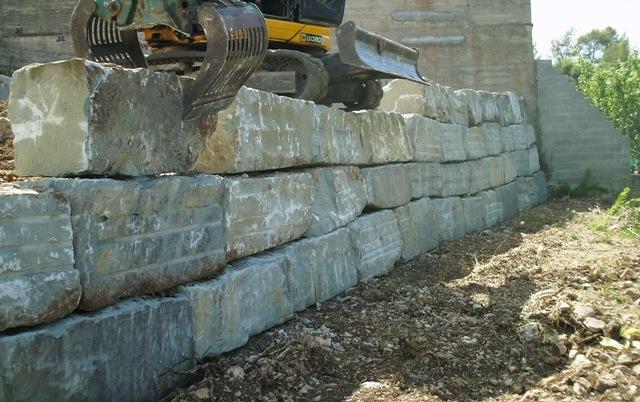 Muros de piedra - Muros de rocalla ...