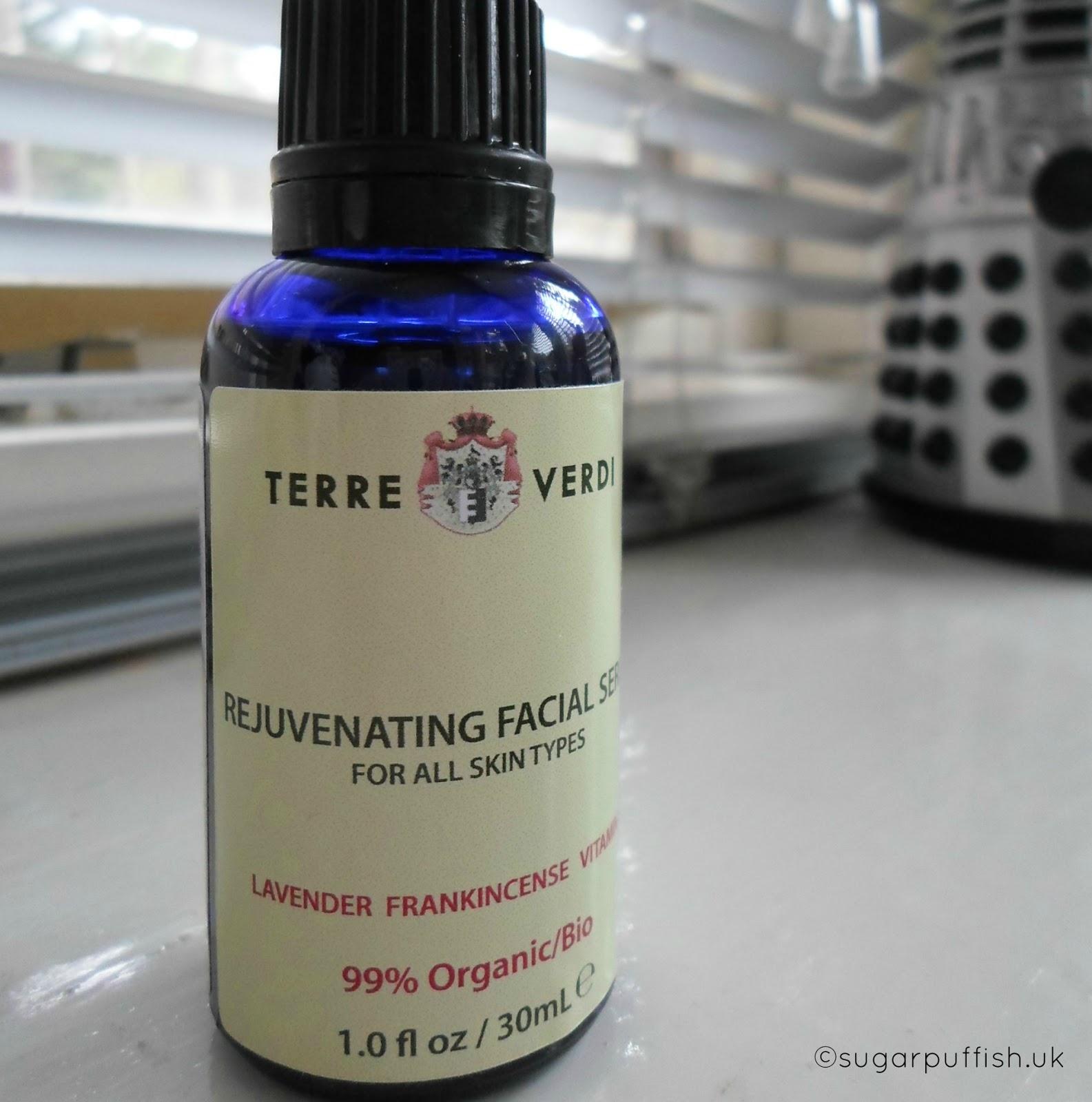 Terre Verdi Rejuvenating Facial Serum