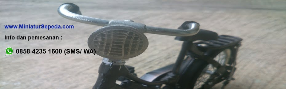 Souvenir Unik Murah, Miniatur Sepeda Ontel, Miniatur Becak Andong Dokar