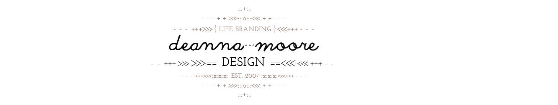 Deanna Moore Design
