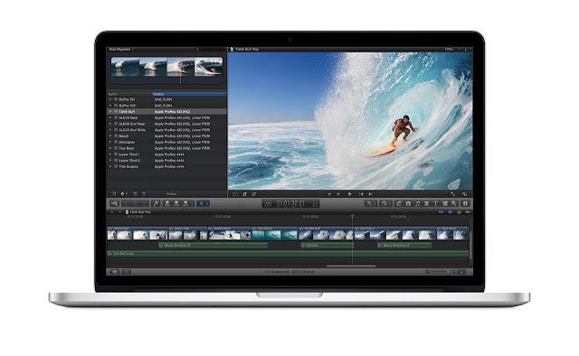 Apple MacBook with Retina Display front