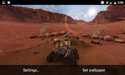 My Mars 3D v1.3 Live Wallpaper APK Android