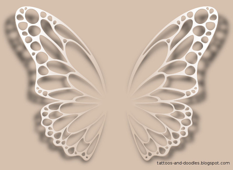 Real Butterfly Tattoo Designs Eb