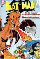 Batman #155 1st silver age Penguin cover