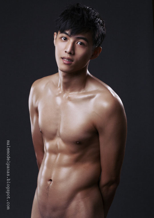 shirtless asian guy with hot bod