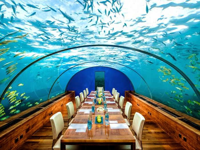 La super dj magazine hotel 5 estrellas bajo el mar en el for Habitacion de hotel bajo el mar