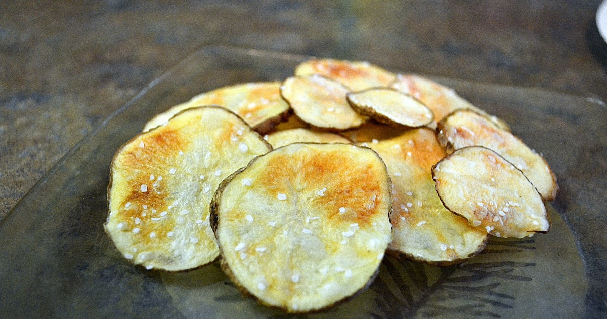 how to make potato chips in microwave