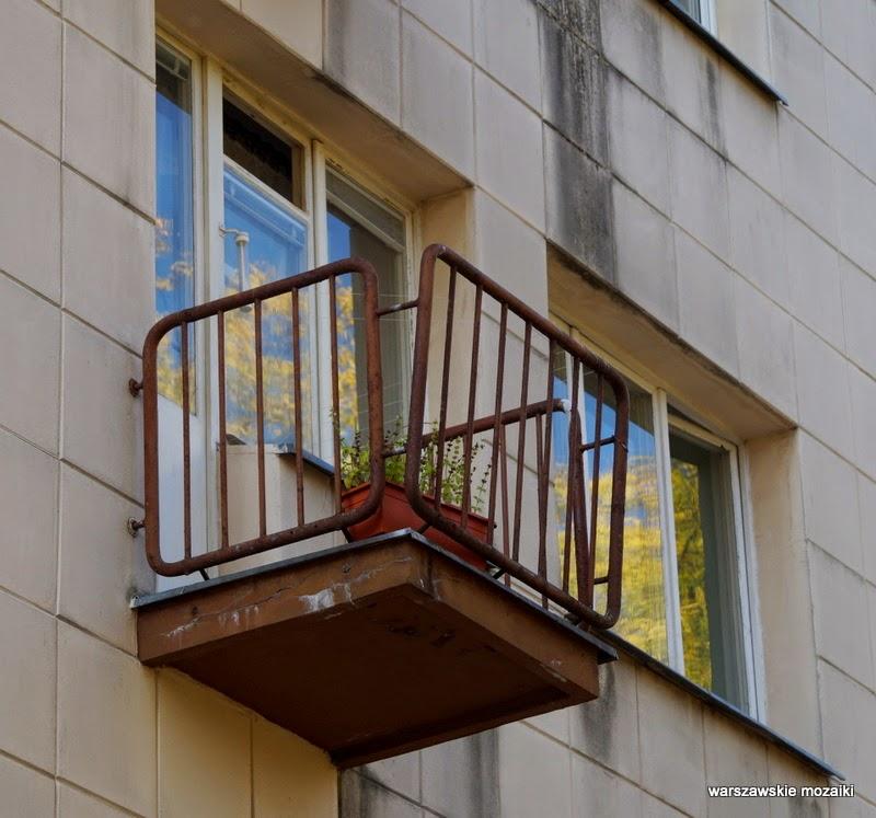 Warszawa Wola detale balkon osiedle