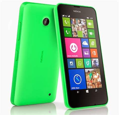 Harga Nokia Lumia 630 dan Spesifikasi Lengkap