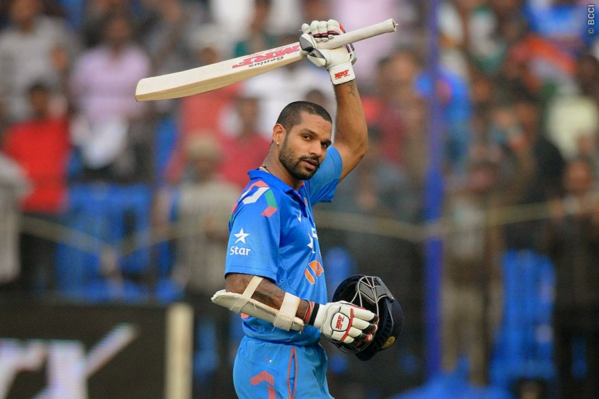 Shikhar-Dhawan-sixth-ODI-century-India-vs-Sri-Lanka-ODI-Series-2014
