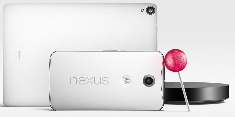 El Nexus 6, Nexus 9 y Player, los nuevos dispositivos de Google.