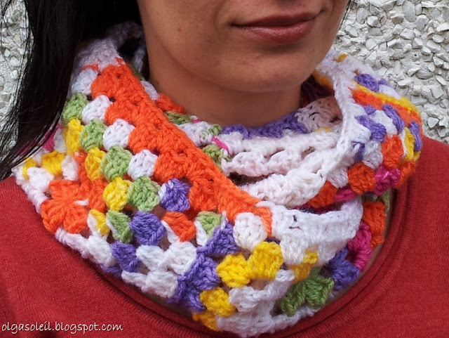Granny Square Cowl