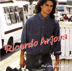 Carácula de Del otro lado del sol (Ricardo Arjona 1991)