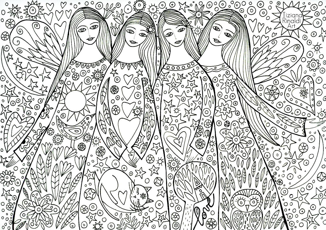 Tiziana rinaldi art 767 sister 39 s love un 39 immagine da - Immagini da colorare durante l estate ...