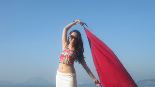 Trisha Sebastian  in Club Balai Isabel Beach Resort Talisay, Batangas