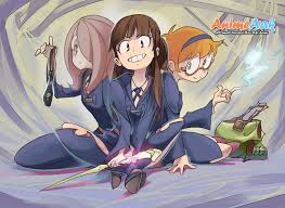 Phim Little Witch Academia: Mahou Shikake no Parade