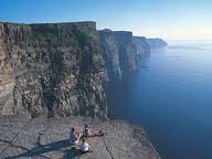 Rest place of Cliffs of moher ireland