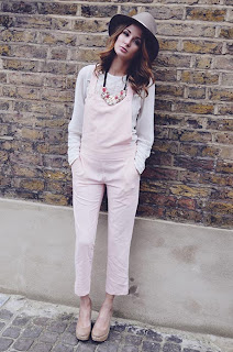 Dungarees, Light Pink, Made In Chelsea, MIC, Millie Mackintosh, Missguided, Sleeveless, Tailored, Pale Pink, Cut Out Detail, Straight Leg, Cropped, Pockets, Ankle Grazer, Blush