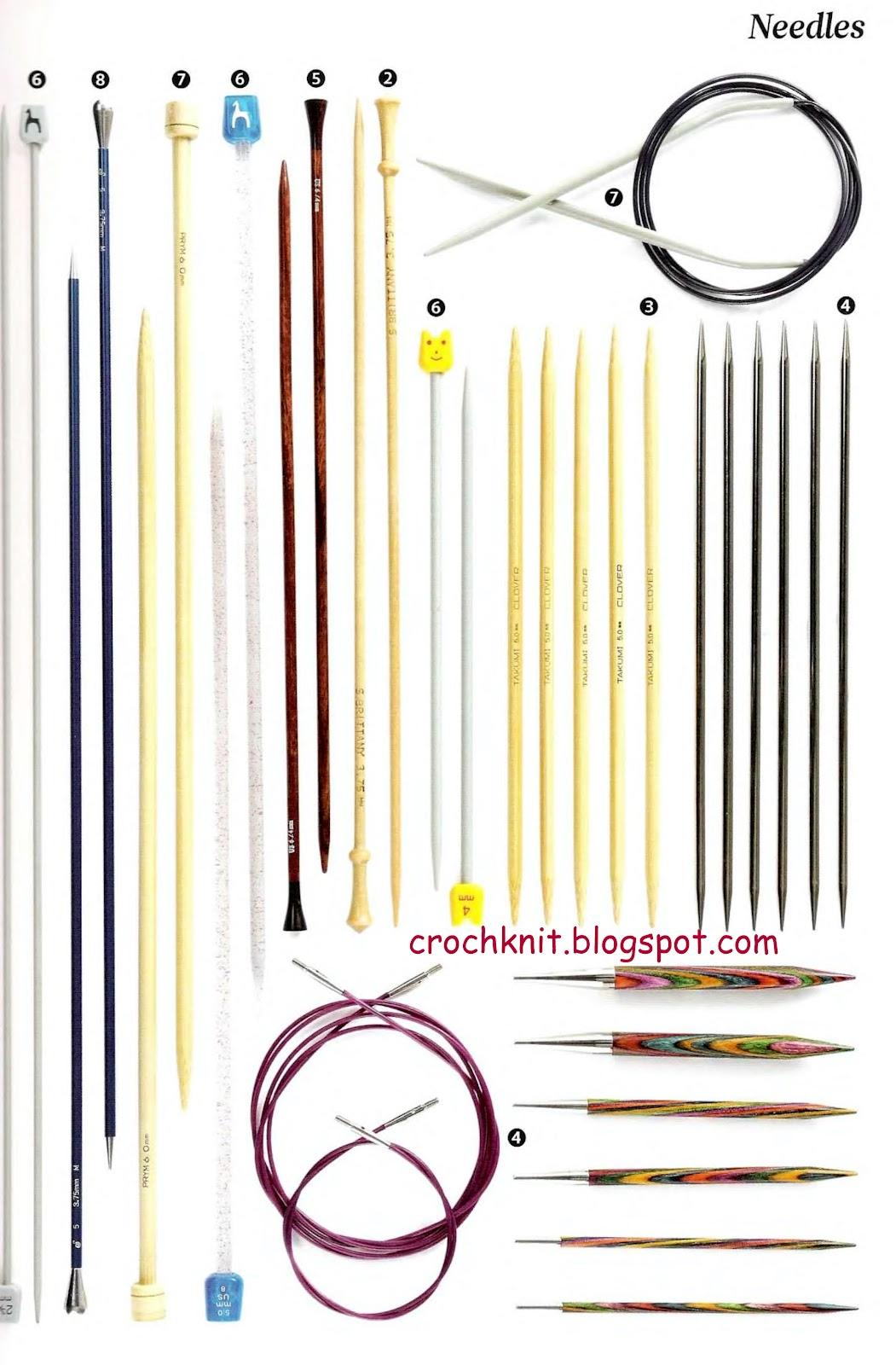 Спицы для вязания номер 30