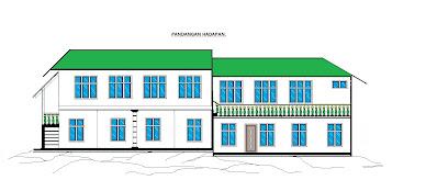 Lakaran Pelan Cadangan Bangunan Pusat Pengajian Islam (Anggaran Kos RM 300,000.00)