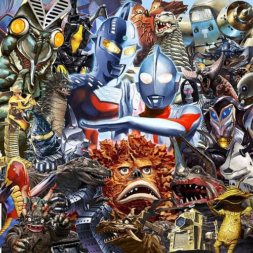felix ip������ ultraman monsters illustration